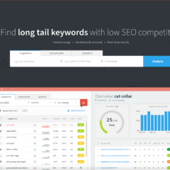 KWFinder – Neues  Google Keyword Analyse & Recherche Tool